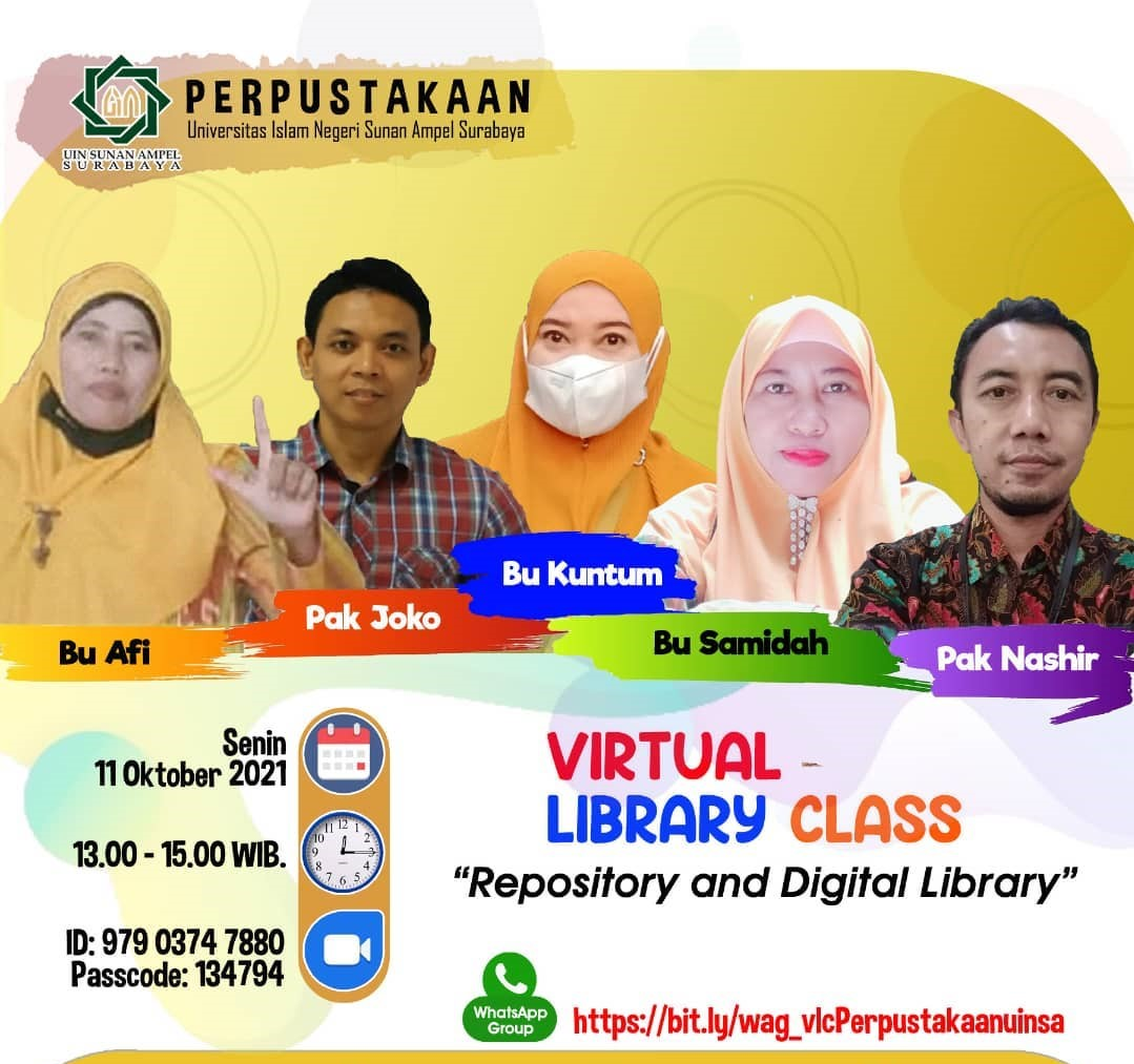 Virtual Library Class Series 2:  Repository and Digital Library