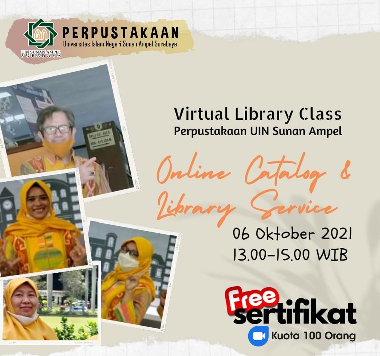 Virtual Library Class Series 1: Online Catalog and Library Service