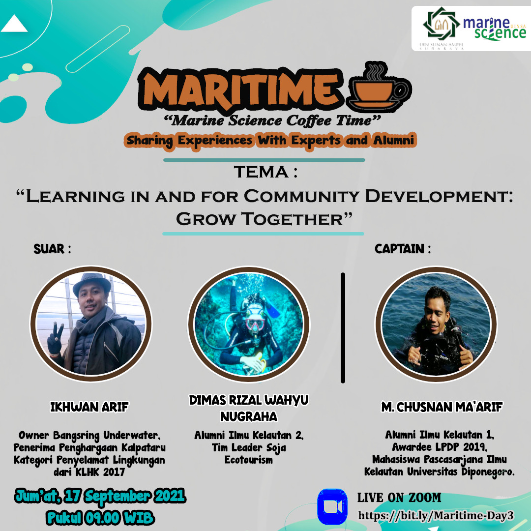 MARITIME-Learning In and for Community Development: Grow Together