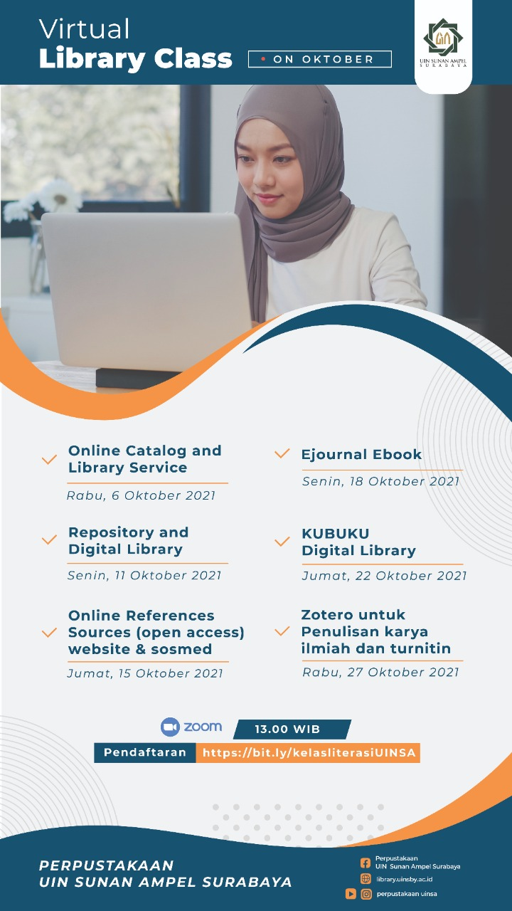 Virtual Library Class is Ready on October